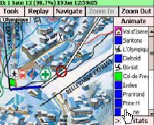 Satski, GPS