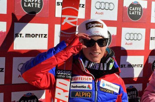 Lara Gut razveselila publiku u St. Moritzu